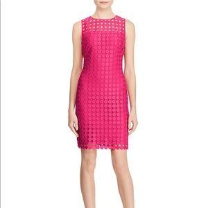LAUREN RALPH LAUREN Melia Dot-Lace Sheath Dress -2